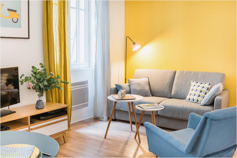 Fransız iç mimarın canlı bir rengin odayla nasıl iyi ambiyans oluşturabileceğina dair çalışması. 13 Minimalist Küçük Oturma Odası.