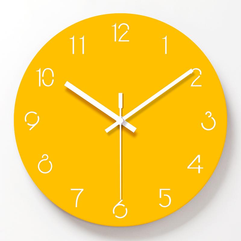 Sarı Duvar Saati