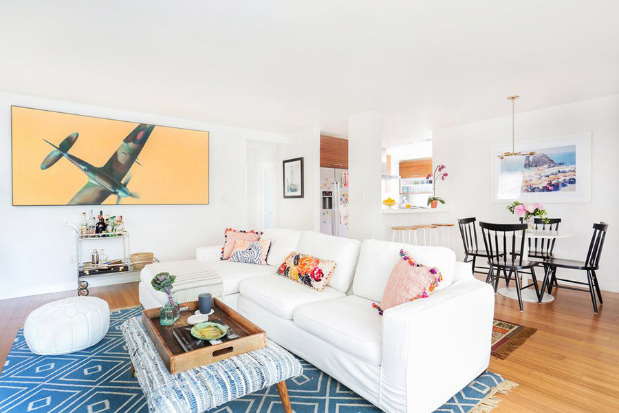 Stüdyo dairede yaşıyor veya çalışıyorsanız, farklı yaşam alanlarınız arasında küçük bir ayrım oluşturmak, evinizdeki dekorasyon keyfini arttırmanın yollarından birisidir.