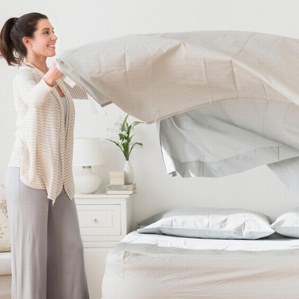 Sağlık ve konaklama uzmanları, çarşaf ve yastık kılıflarının haftada en az bir kez yıkanmasını tavsiye ediyor. Yatak Takımları Ne Sıklıkta Yıkanır.