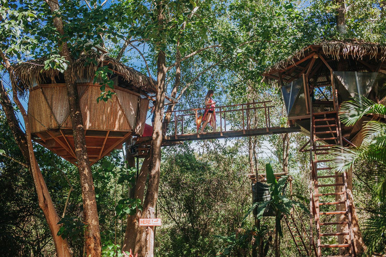 Kutsal Geome Ağaç Evi (Montezuma, Kosta Rika)