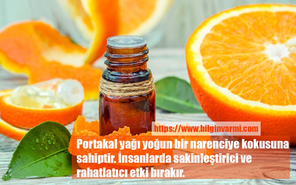 Portakal yağı ile anı yaşayın