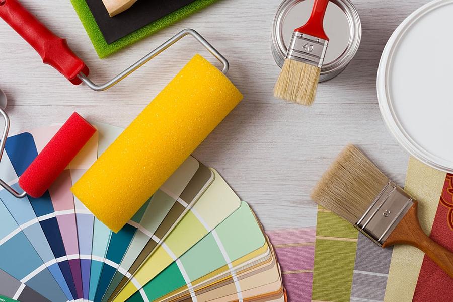 Boyaya başlamadan evvel aşağıdaki malzemeleri hazırlamalıyız