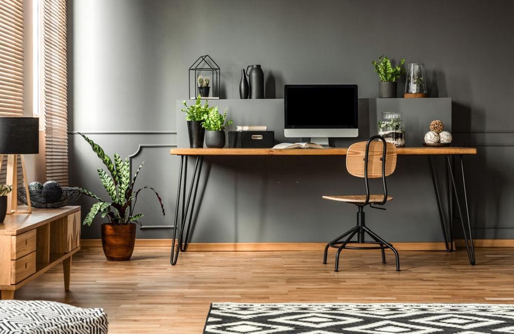 Gri Renk Ofis. Ofis Duvar Renkleri Nasıl Olmalı ?