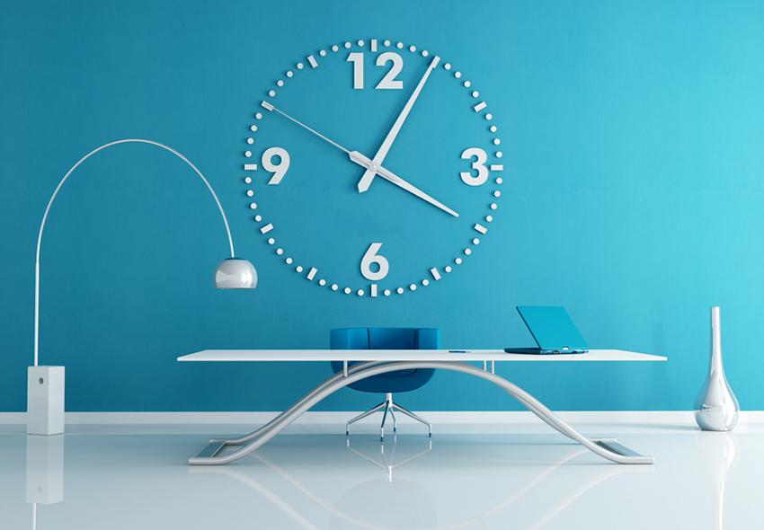Mavi Renk Ofis Duvarı. Ofis Duvar Renkleri Nasıl Olmalı ?