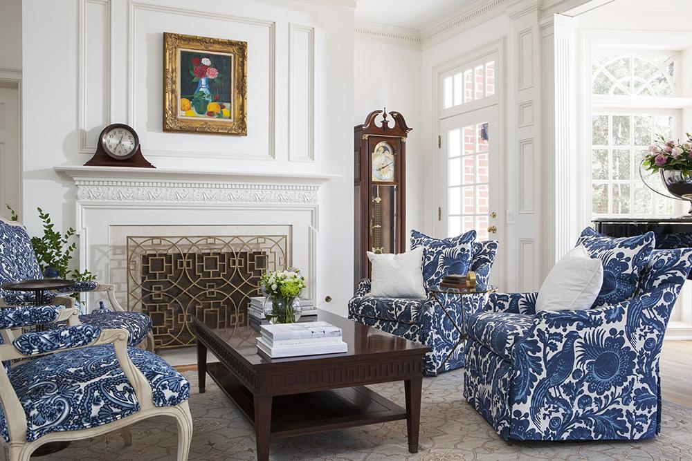 Klasik Dekorasyonlu Salon