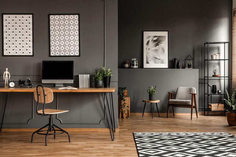 Sakinlik Hissi Veren Home Ofis Örneği