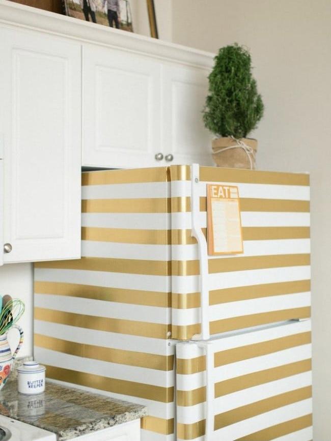 Desenli buzdolabı