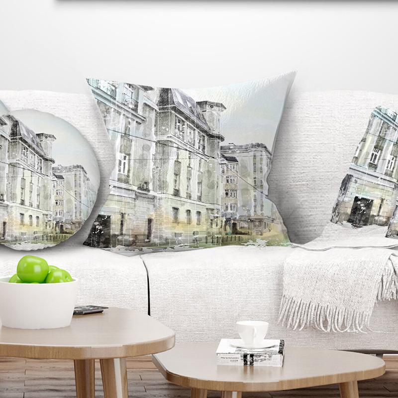 Yastıklarda sulu boya örneği