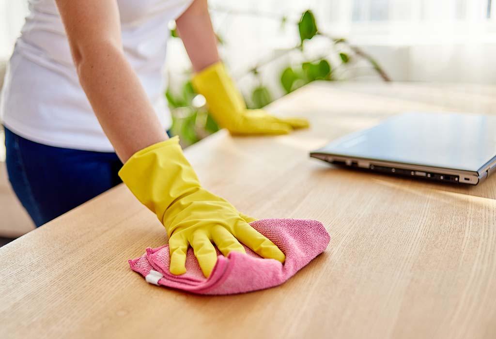 Ahşap Mobilya Temizliği Nasıl Yapılır ?